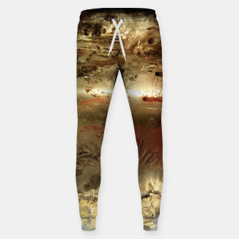 Thumbnail image of Golden grunge  Sweatpants, Live Heroes