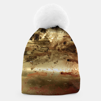 Thumbnail image of Golden grunge  Beanie, Live Heroes