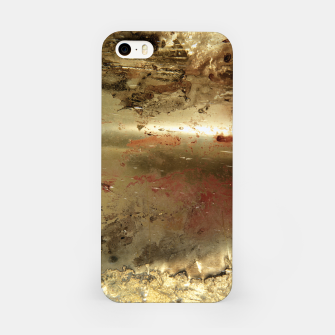 Thumbnail image of Golden grunge  iPhone Case, Live Heroes