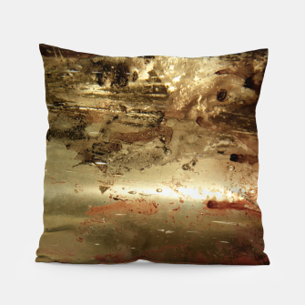 Thumbnail image of Golden grunge  Pillow, Live Heroes