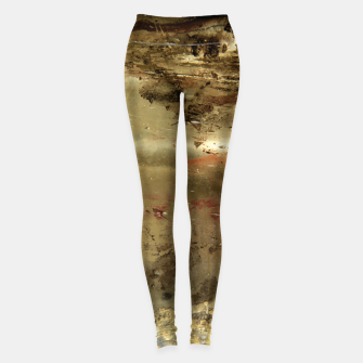 Thumbnail image of Golden grunge  Leggings, Live Heroes