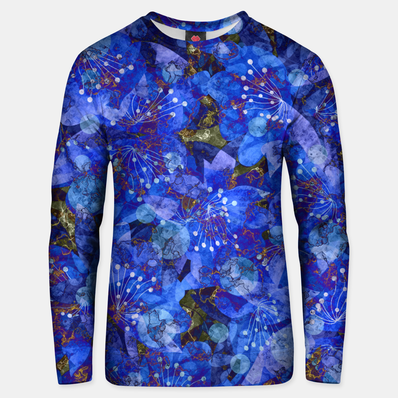 Image of Abstract modern art Unisex sweater - Live Heroes