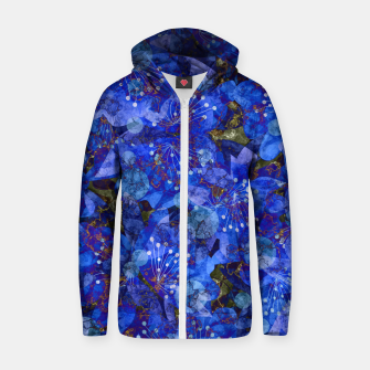Miniatur Abstract modern art Zip up hoodie, Live Heroes