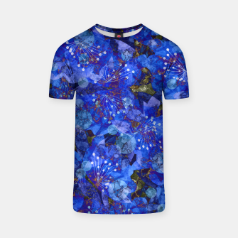Miniatur Abstract modern art T-shirt, Live Heroes