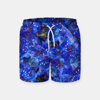Miniatur Abstract modern art Swim Shorts, Live Heroes