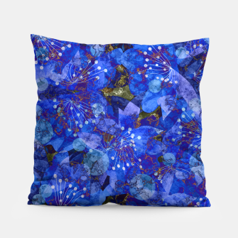 Miniatur Abstract modern art Pillow, Live Heroes
