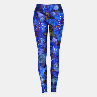 Miniatur Abstract modern art Leggings, Live Heroes