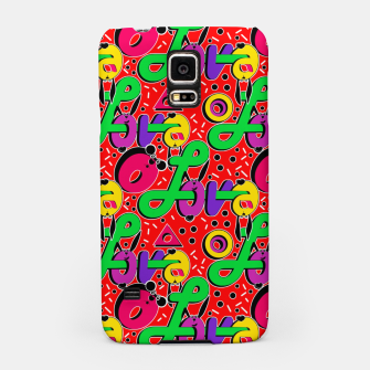 Thumbnail image of Abstract graffiti style modern love forms a geometric print Samsung Case, Live Heroes
