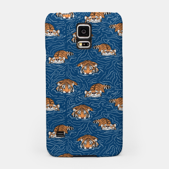 Thumbnail image of Tigers in the water Carcasa por Samsung, Live Heroes