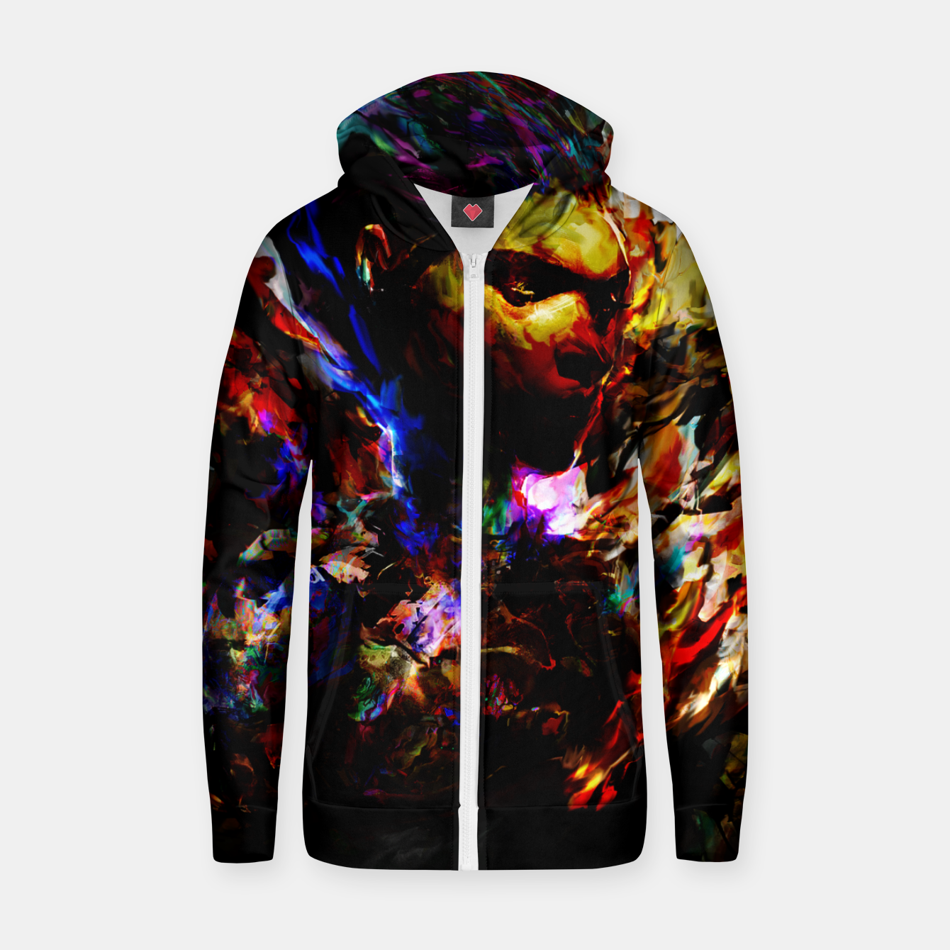 Zdjęcie ghost in the shell Zip up hoodie - Live Heroes