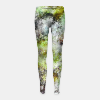 Thumbnail image of Until the end of the storm Girl's leggings, Live Heroes