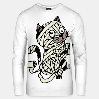 Thumbnail image of Mummy Cat Unisex sweater, Live Heroes