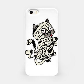 Thumbnail image of Mummy Cat iPhone Case, Live Heroes