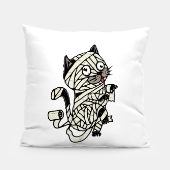 Thumbnail image of Mummy Cat Pillow, Live Heroes