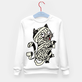 Thumbnail image of Mummy Cat Kid's sweater, Live Heroes