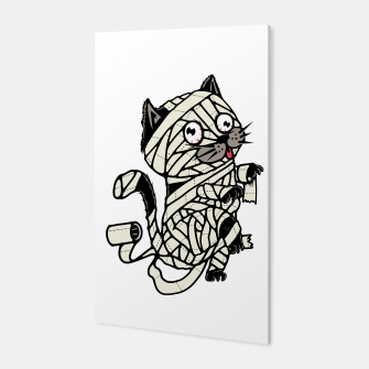 Thumbnail image of Mummy Cat Canvas, Live Heroes