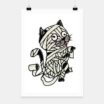Thumbnail image of Mummy Cat Poster, Live Heroes