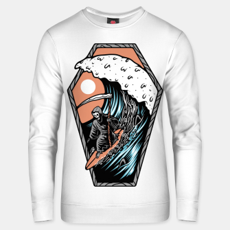 Thumbnail image of Surf Till Die Unisex sweater, Live Heroes