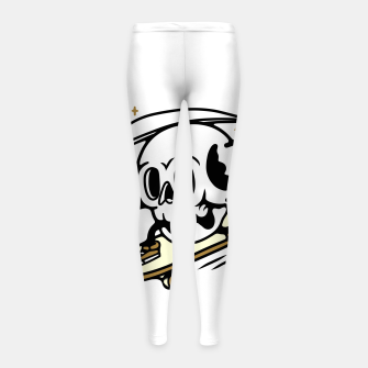 Thumbnail image of Skullboarding Girl's leggings, Live Heroes
