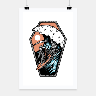 Thumbnail image of Surf Till Die Poster, Live Heroes