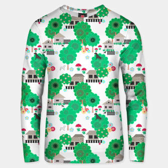 Thumbnail image of Fun children's  pattern Unisex sweater, Live Heroes