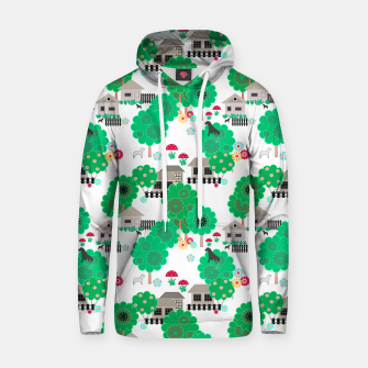 Thumbnail image of Fun children's  pattern Hoodie, Live Heroes