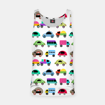 Thumbnail image of children's car cartoon, mixed colors Tank Top, Live Heroes