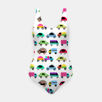 Thumbnail image of children's car cartoon, mixed colors Swimsuit, Live Heroes