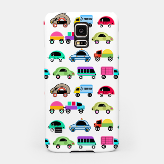 Thumbnail image of children's car cartoon, mixed colors Samsung Case, Live Heroes