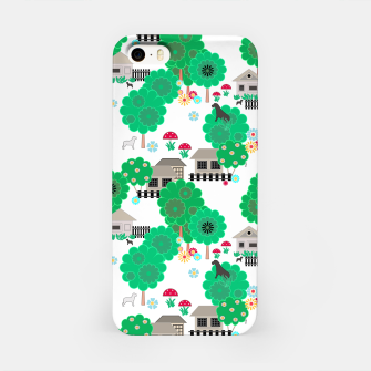 Thumbnail image of Fun children's  pattern iPhone Case, Live Heroes