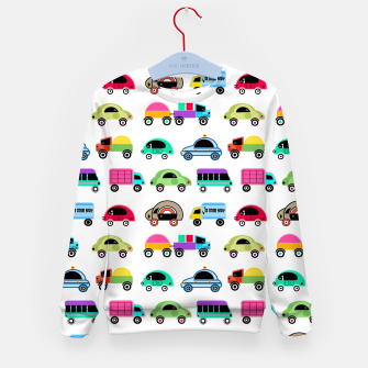 Thumbnail image of children's car cartoon, mixed colors Kid's sweater, Live Heroes
