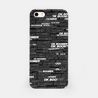 OK BOOMER iPhone Case thumbnail image