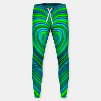 Thumbnail image of Word Spectrum: Hype-Funky-Green-Heart Sweatpants, Live Heroes