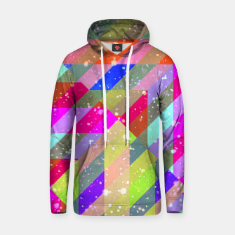 Multicolored Party Geo Design Print  Hoodie obraz miniatury