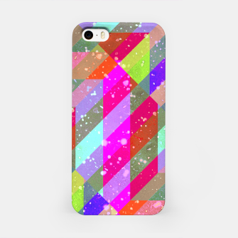 Miniatur Multicolored Party Geo Design Print  iPhone Case, Live Heroes