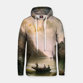 Thumbnail image of Crossing In A Moonlit Night by Albert Rieger Hoodie, Live Heroes