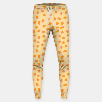 Thumbnail image of Cute saffron pink animal print  Sweatpants, Live Heroes