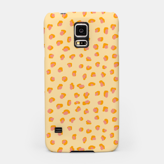 Thumbnail image of Cute saffron pink animal print  Samsung Case, Live Heroes
