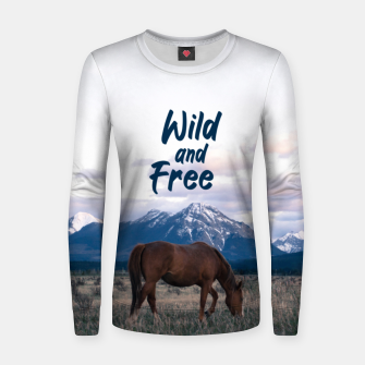 Wild and Free Women sweater thumbnail image