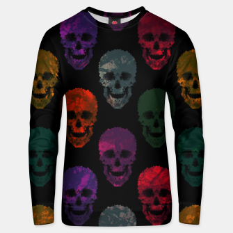 Thumbnail image of Abstract gothic style Unisex sweater, Live Heroes