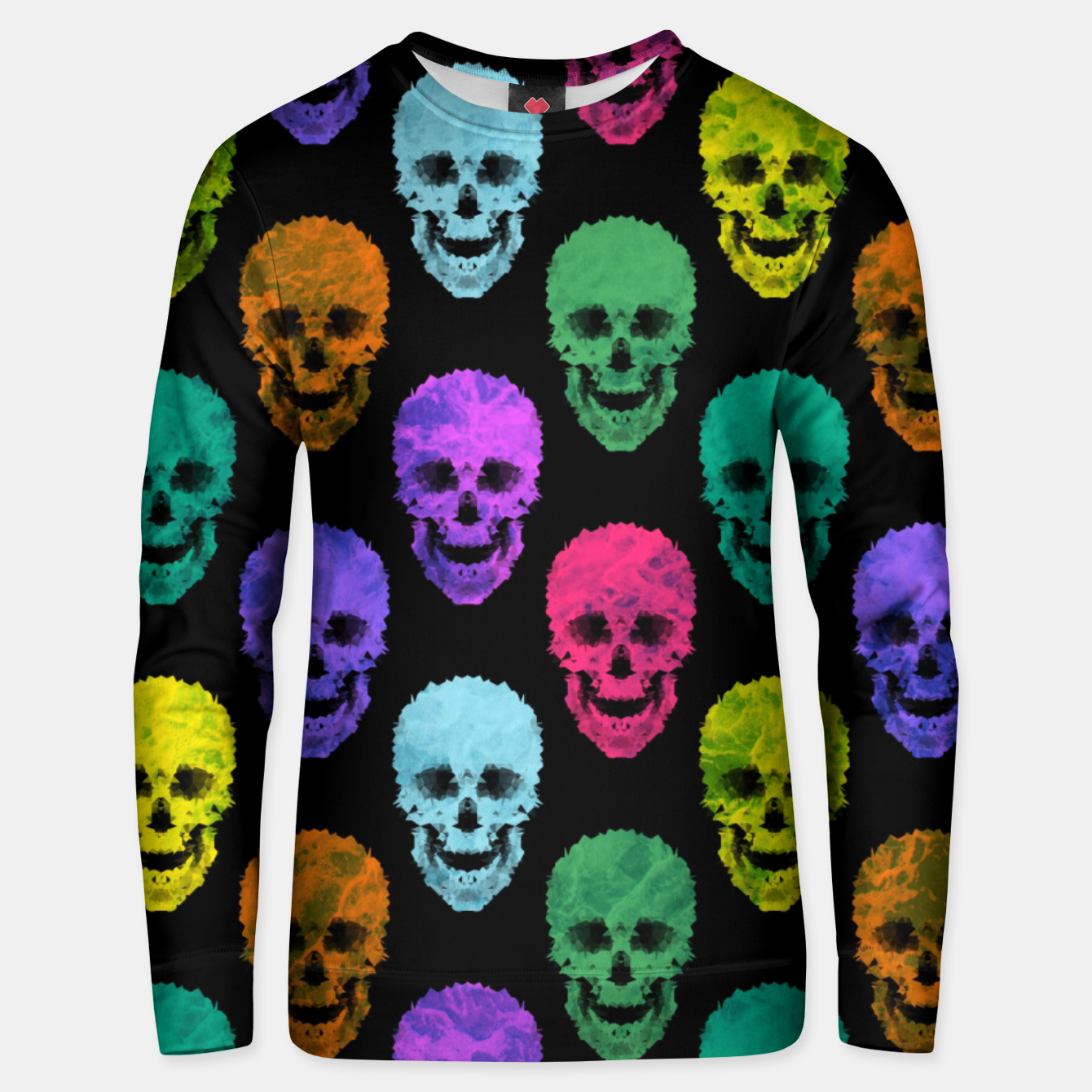 Foto Abstract gothic style Unisex sweater - Live Heroes