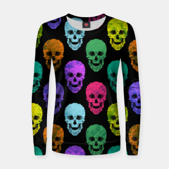 Thumbnail image of Abstract gothic style Women sweater, Live Heroes