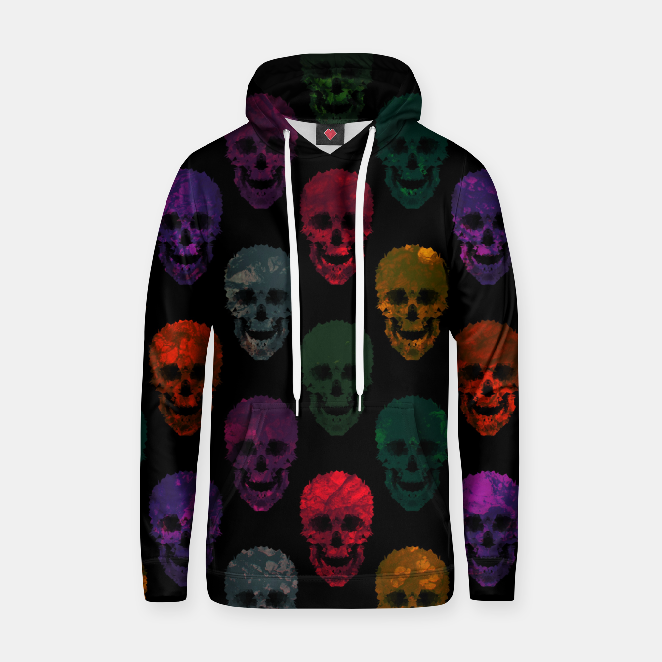 Foto Abstract gothic style Hoodie - Live Heroes
