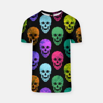 Abstract gothic style T-shirt Bild der Miniatur