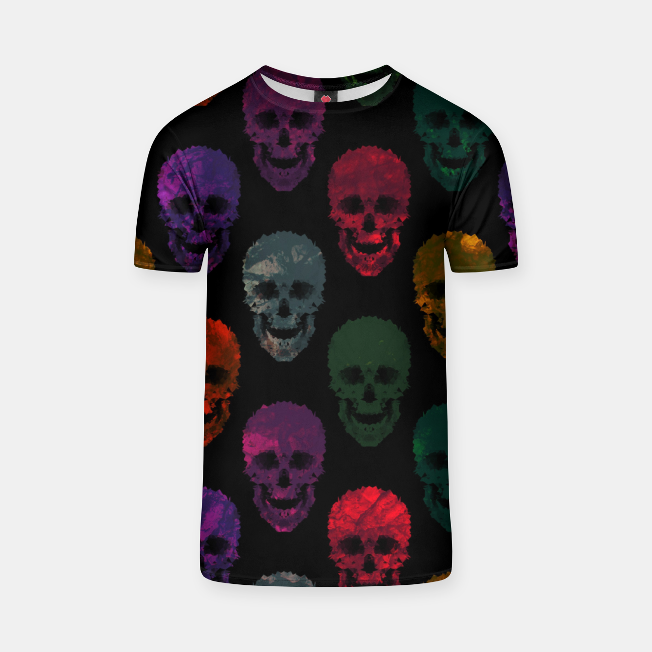 Foto Abstract gothic style T-shirt - Live Heroes