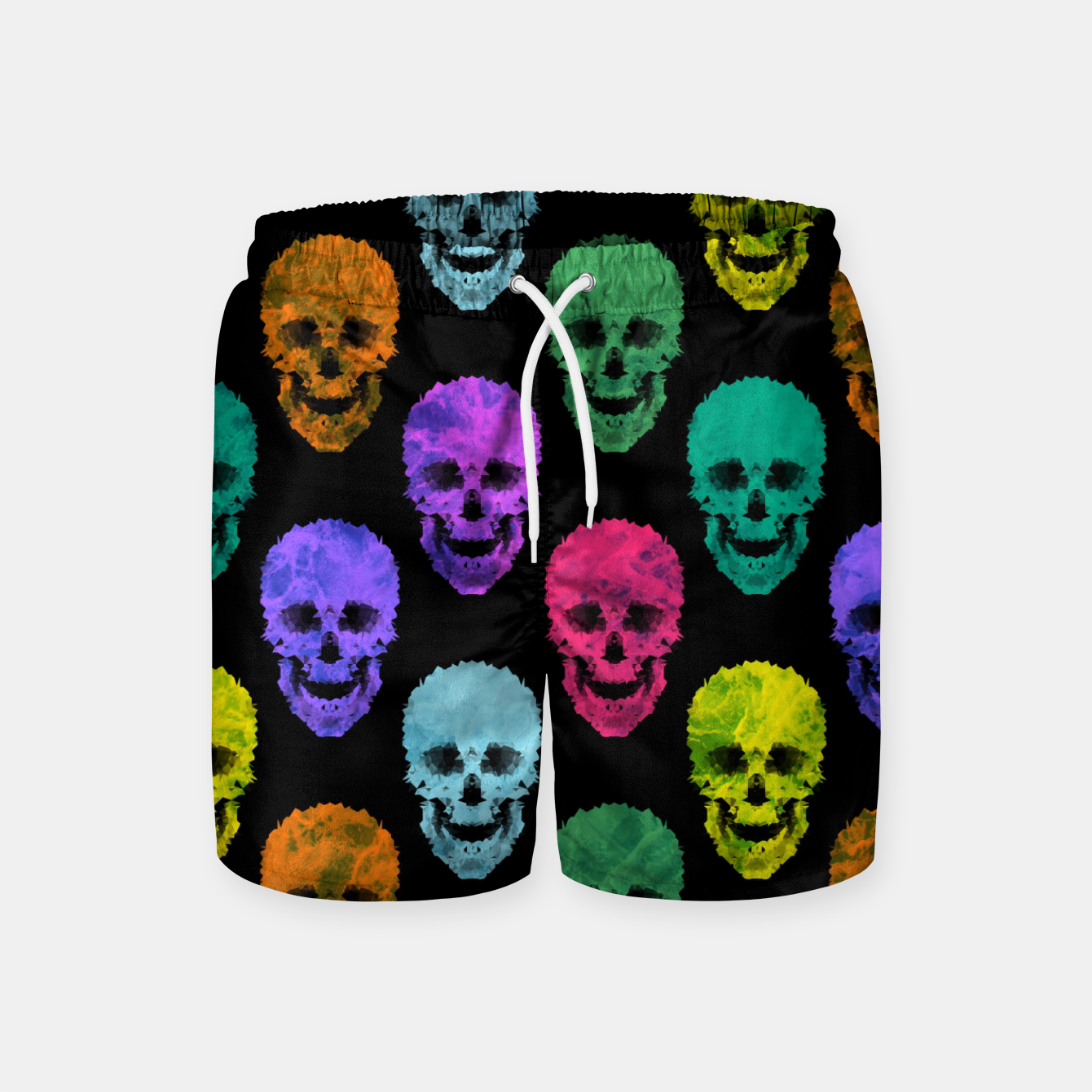 Foto Abstract gothic style Swim Shorts - Live Heroes