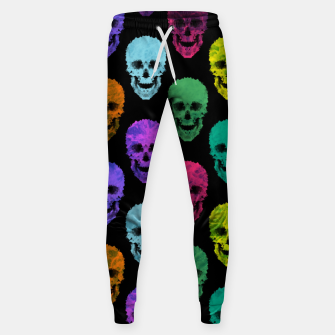 Abstract gothic style Sweatpants thumbnail image