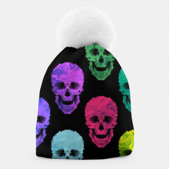 Thumbnail image of Abstract gothic style Beanie, Live Heroes