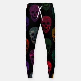 Miniatur Abstract gothic style Sweatpants, Live Heroes