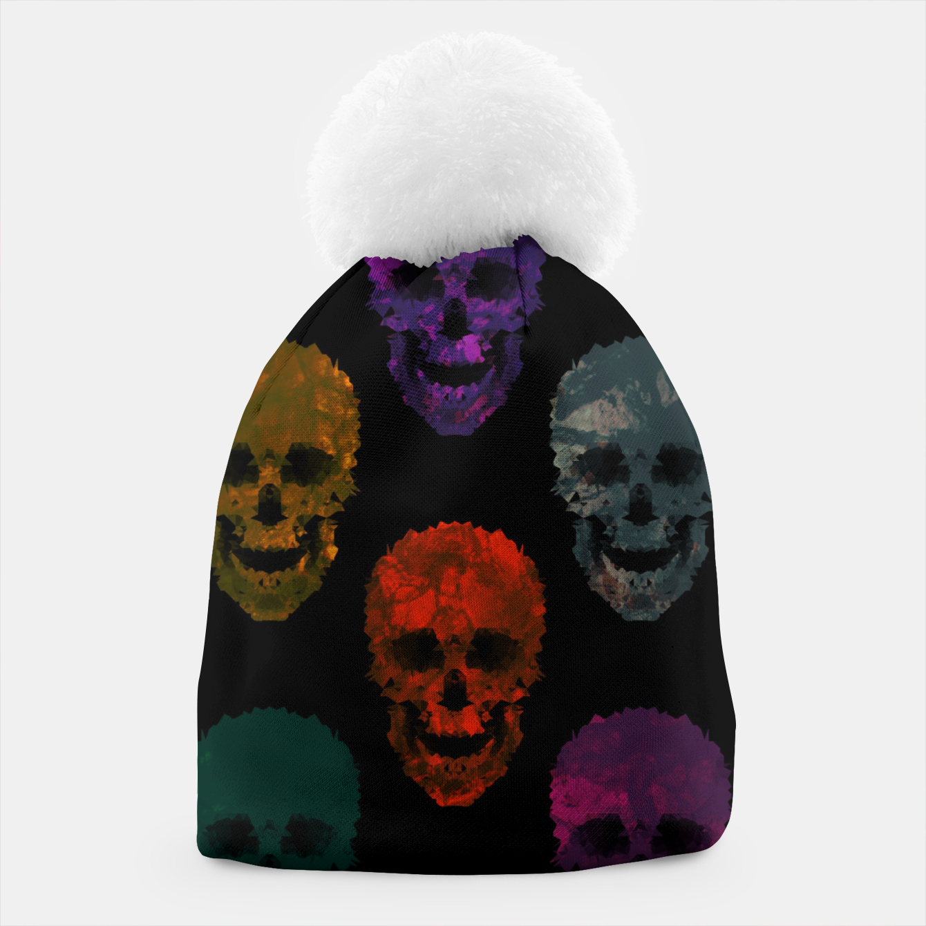 Image of Abstract gothic style Beanie - Live Heroes